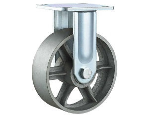 Heavy Duty Casters with Cast Iron Wheel Rigid